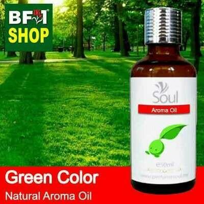 Natural Aroma Oil (AO) - Green Color Aura Aroma Oil - 50ml