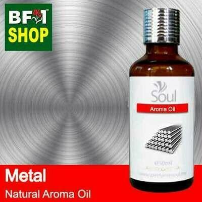 Natural Aroma Oil (AO) - Metal Aura Aroma Oil - 50ml