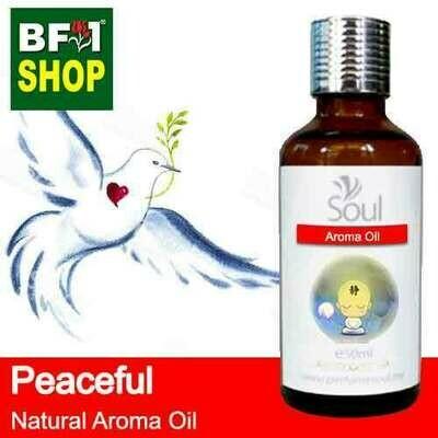 Natural Aroma Oil (AO) - Peaceful Aura Aroma Oil - 50ml