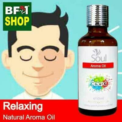 Natural Aroma Oil (AO) - Relaxing Aura Aroma Oil - 50ml