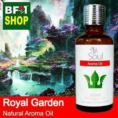 Natural Aroma Oil (AO) - Royal Garden Aura Aroma Oil - 50ml