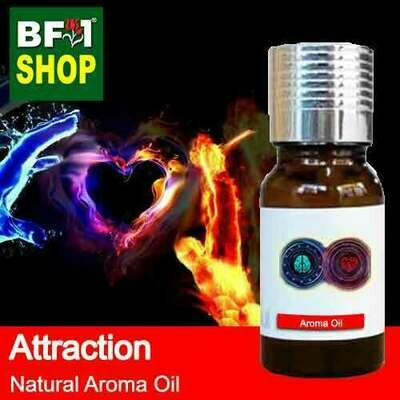 Natural Aroma Oil (AO) - Attraction Aura Aroma Oil - 10ml
