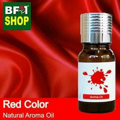 Natural Aroma Oil (AO) - Red Color Aura Aroma Oil - 10ml