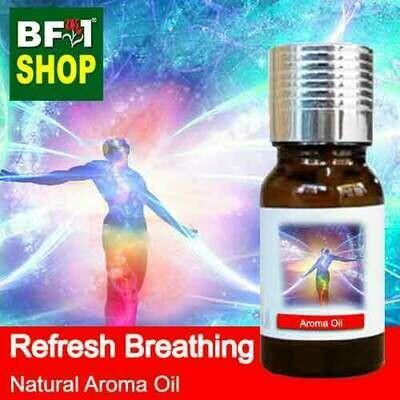 Natural Aroma Oil (AO) - Refresh Breathing Aura Aroma Oil - 10ml