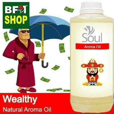 Natural Aroma Oil (AO) - Wealthy Aura Aroma Oil - 1L