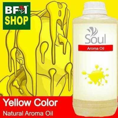 Natural Aroma Oil (AO) - Yellow Color Aura Aroma Oil - 1L
