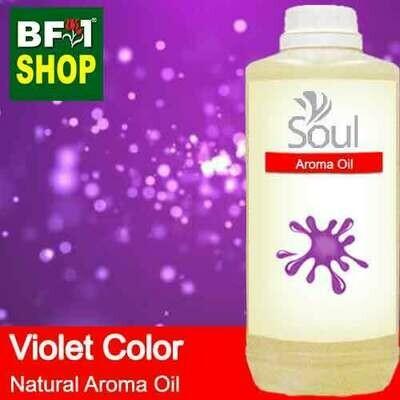 Natural Aroma Oil (AO) - Violet Color Aura Aroma Oil - 1L