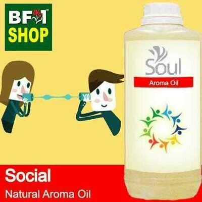 Natural Aroma Oil (AO) - Social Aura Aroma Oil - 1L