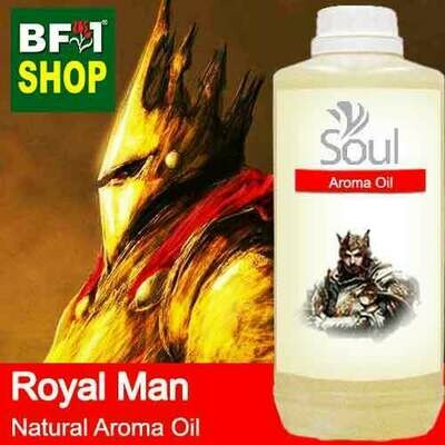 Natural Aroma Oil (AO) - Royal Man Aura Aroma Oil - 1L