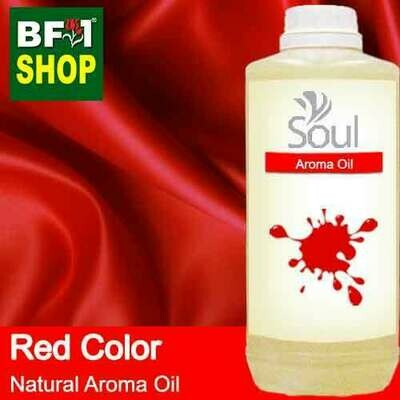 Natural Aroma Oil (AO) - Red Color Aura Aroma Oil - 1L