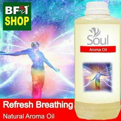 Natural Aroma Oil (AO) - Refresh Breathing Aura Aroma Oil - 1L