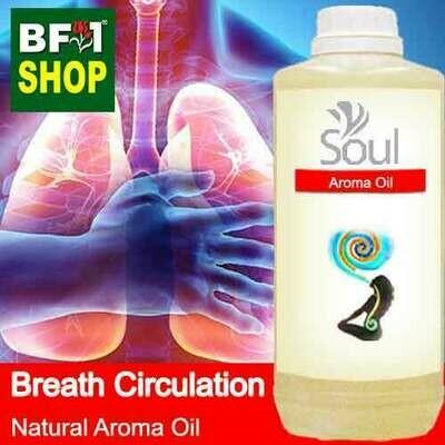 Natural Aroma Oil (AO) - Breath Circulation Aura Aroma Oil - 1L