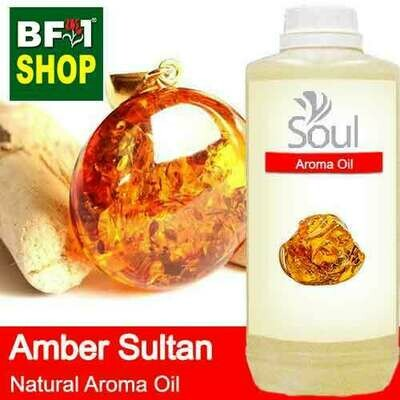 Natural Aroma Oil (AO) - Amber Sultan Aura Aroma Oil - 1L