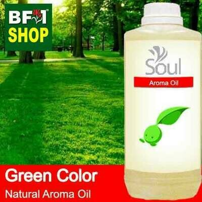 Natural Aroma Oil (AO) - Green Color Aura Aroma Oil - 1L