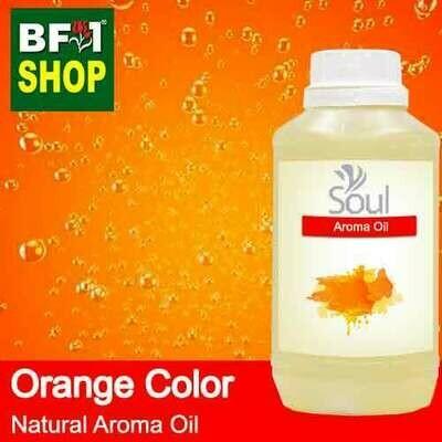 Natural Aroma Oil (AO) - Orange Color Aura Aroma Oil - 500ml