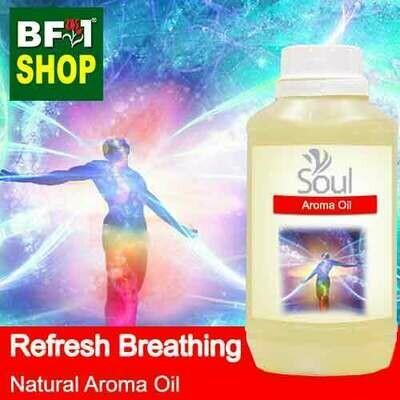 Natural Aroma Oil (AO) - Refresh Breathing Aura Aroma Oil - 500ml