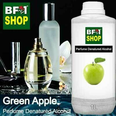 Perfume Alcohol - Denatured Alcohol 75% with Apple - Green Apple - 1L