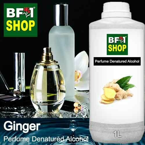 Perfume Alcohol - Denatured Alcohol 75% with Ginger - 1L