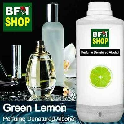 Perfume Alcohol - Denatured Alcohol 75% with Lemon - Green Lemon - 1L