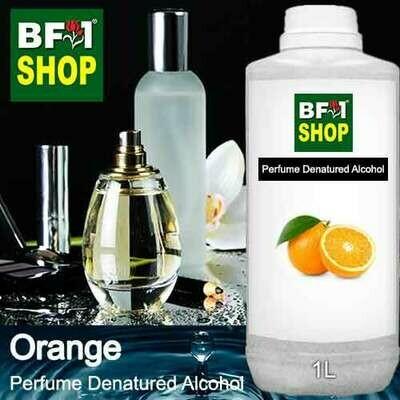 Perfume Alcohol - Denatured Alcohol 75% with Orange - 1L