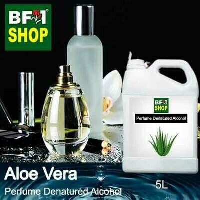 Perfume Alcohol - Denatured Alcohol 75% with Aloe Vera - 5L
