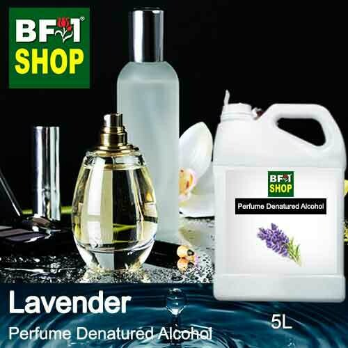 Perfume Alcohol - Denatured Alcohol 75% with Lavender - 5L