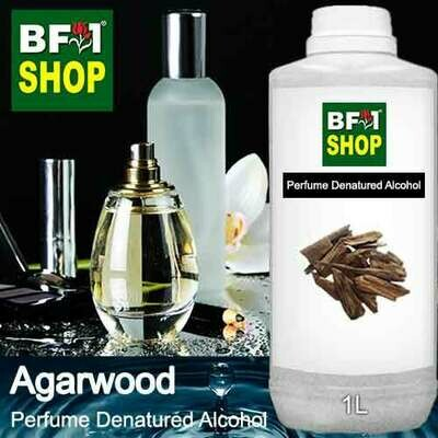 Perfume Alcohol - Denatured Alcohol 75% with Agarwood - 1L