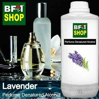 Perfume Alcohol - Denatured Alcohol 75% with Lavender - 1L