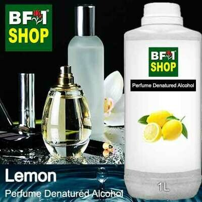 Perfume Alcohol - Denatured Alcohol 75% with Lemon - 1L