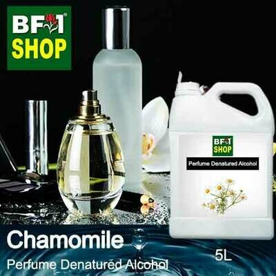 Perfume Alcohol - Denatured Alcohol 75% with Chamomile - 5L