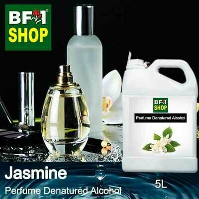 Perfume Alcohol - Denatured Alcohol 75% with Jasmine - 5L