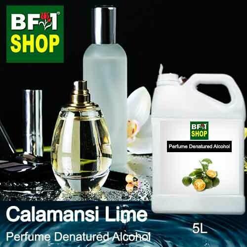 Perfume Alcohol - Denatured Alcohol 75% with lime - Calamansi Lime - 5L