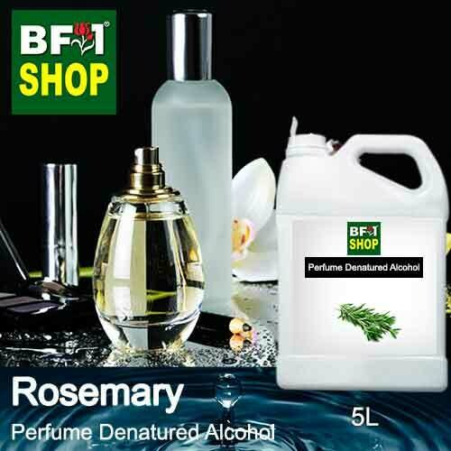 Perfume Alcohol - Denatured Alcohol 75% with Rosemary - 5L