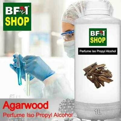 Perfume Alcohol - Iso Propyl Alcohol 75% with Agarwood - 1L