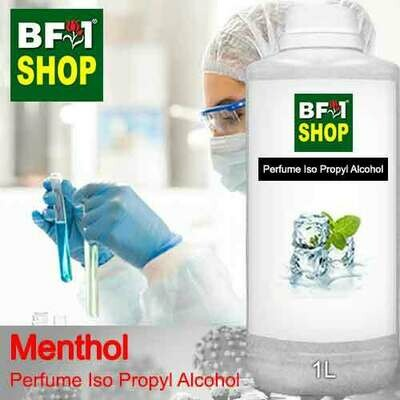 Perfume Alcohol - Iso Propyl Alcohol 75% with Menthol - 1L