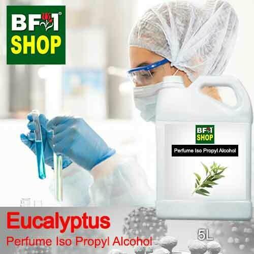 Perfume Alcohol - Iso Propyl Alcohol 75% with Eucalyptus - 5L