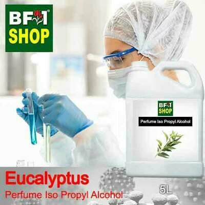 Perfume Alcohol - Iso Propyl Alcohol 75% with Eucalyptus - 5L
