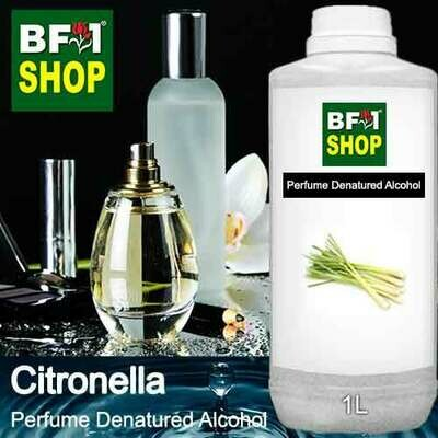 Perfume Alcohol - Denatured Alcohol 75% with Citronella - 1L