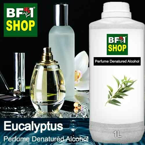 Perfume Alcohol - Denatured Alcohol 75% with Eucalyptus - 1L