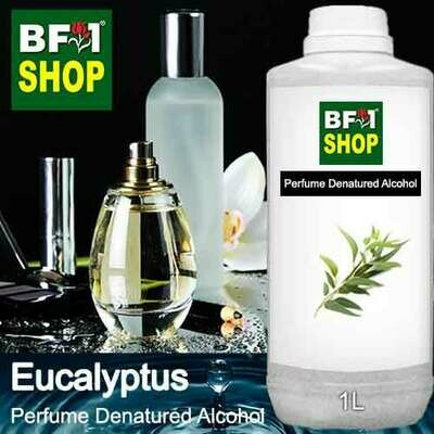 Perfume Alcohol - Denatured Alcohol 75% with Eucalyptus - 1L