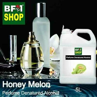 Perfume Alcohol - Denatured Alcohol 75% with Honey Melon - 5L
