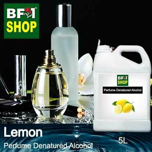 Perfume Alcohol - Denatured Alcohol 75% with Lemon - 5L