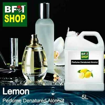 Perfume Alcohol - Denatured Alcohol 75% with Lemon - 5L