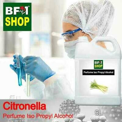 Perfume Alcohol - Iso Propyl Alcohol 75% with Citronella - 5L