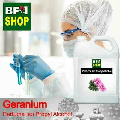 Perfume Alcohol - Iso Propyl Alcohol 75% with Geranium - 5L