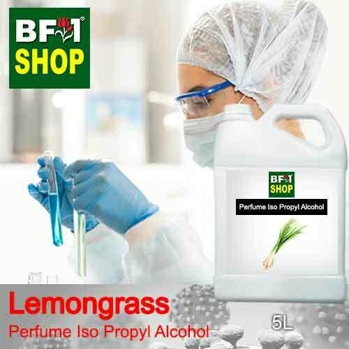 Perfume Alcohol - Iso Propyl Alcohol 75% with Lemongrass - 5L