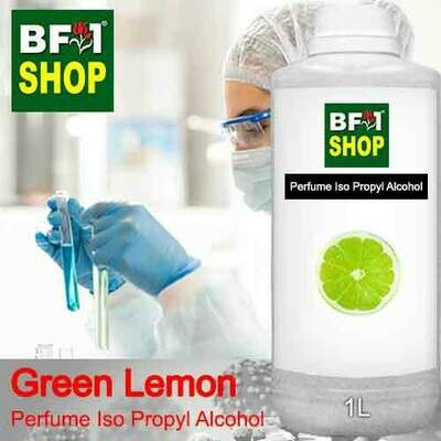 Perfume Alcohol - Iso Propyl Alcohol 75% with Lemon - Green Lemon - 1L