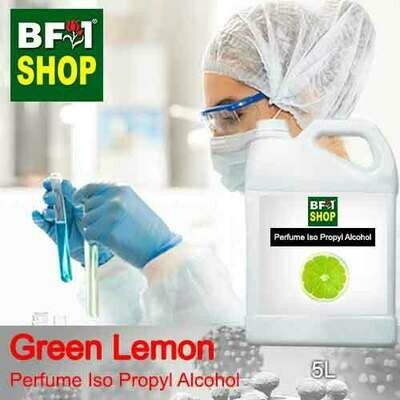 Perfume Alcohol - Iso Propyl Alcohol 75% with Lemon - Green Lemon - 5L