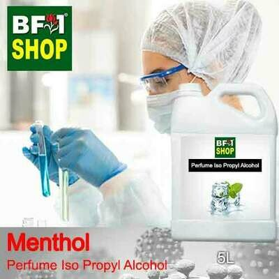 Perfume Alcohol - Iso Propyl Alcohol 75% with Menthol - 5L