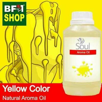 Natural Aroma Oil (AO) - Yellow Color Aura Aroma Oil - 500ml